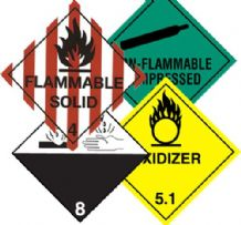Class 2- 9 Hazard Labels 100mm